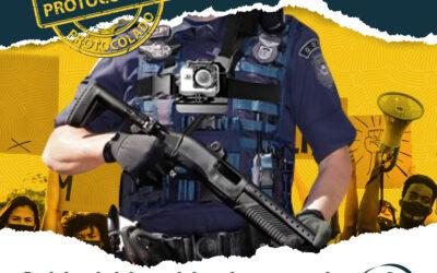 Renato Freitas protocola na Câmara Projetos de Lei sobre o uso de câmeras nos guardas municipais e de acompanhamento psicológico aos agentes