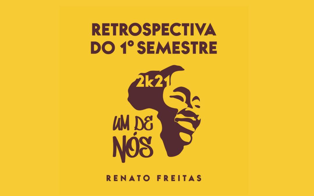 Confira as principais ações do mandato do vereador Renato Freitas no primeiro semestre na Câmara